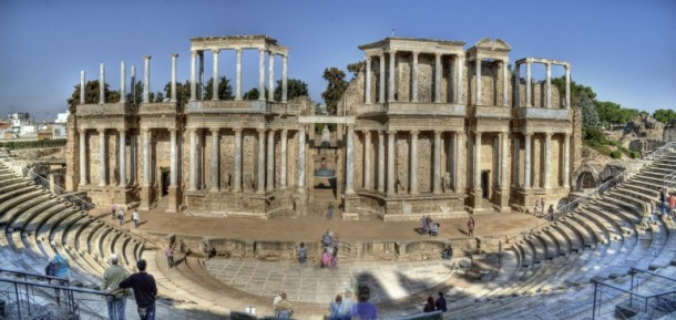 Imperio Romano Teatro Romano de Mérida